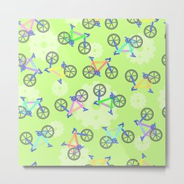 Biiiii-cycles! Metal Print