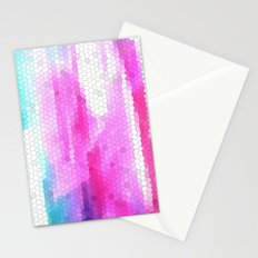 pink scales Stationery Cards