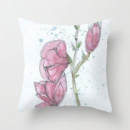 Magnolia #2 Throw Pillow