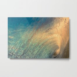 Visible Dimension Metal Print