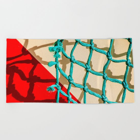 SHADOW PLAY Beach Towel