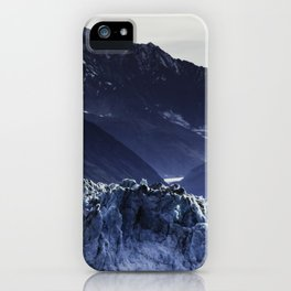 Despedir a los glaciares iPhone Case