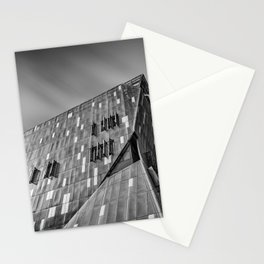 Cooper Square building in New York city Stationery Cards