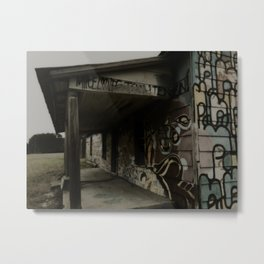 graffiti house Metal Print