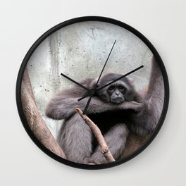 Lost in Thought Wall Clock