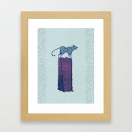 Forgive me, Tigress. Framed Art Print