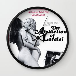 The Abduction Of  Lorelei Wall Clock