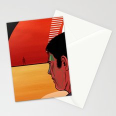 Abstract Rendez Vous Stationery Cards