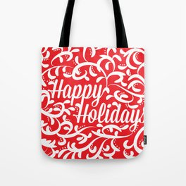 Holiday Swirl Tote Bag