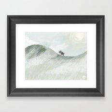 Trek Framed Art Print