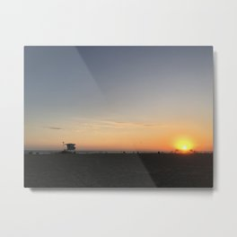 SUNSETS WITH HER IV Metal Print