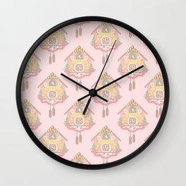 Cuckoo Clock Cross Stitch Pattern Wall Clock