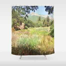 Santa Barbara Summer Shower Curtain