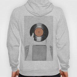 Vinyl record head ... Hoody