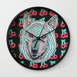 The Power Wolf Parties with God Wall Clock