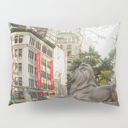 New York Public Library Pillow Sham