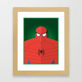 Homem Aranha Framed Art Print