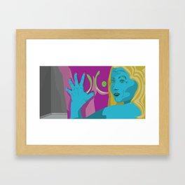 The Amazing Boob Grab Framed Art Print