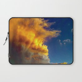 Cloudy sunset Laptop Sleeve