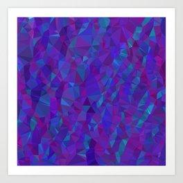 Jewel Tone Sparkles Art Print