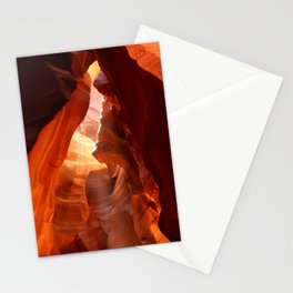 A Canyon Sculptured By Water Stationery Cards
