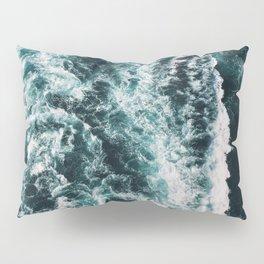 Green Seas, Yes Please Pillow Sham