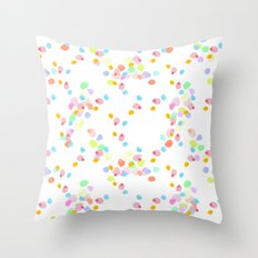 ditsy pop Throw Pillow