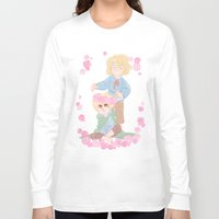 hetalia Long Sleeve T-shirts featuring Flower Crown by kitkatkatee
