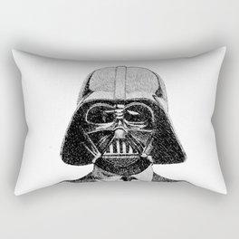 Darth Vader portrait #2 Rectangular Pillow