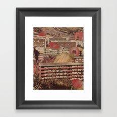 the visit Framed Art Print