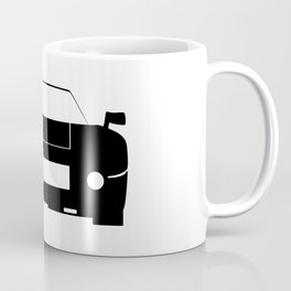 Race Car Icon Coffee Mug