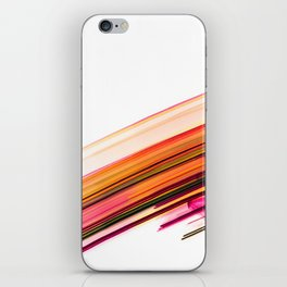 Fast Forward Abstract Artwork iPhone Skin