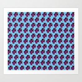 Pop art, pup art Art Print