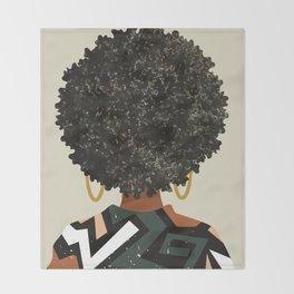 Black Art Matters Throw Blanket