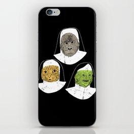 Creatures of Habit iPhone Skin