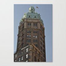 heritage vancouver Canvas Print