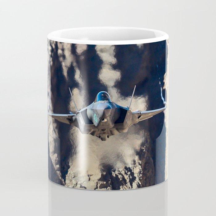 F-35 in Death Valley Coffee Mug