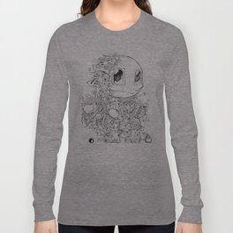 SQUIRTLE DOODLE Long Sleeve T-shirt
