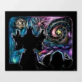 Stargazing Canvas Print