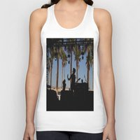 coachella Tank Tops featuring EMA / Coachella by The Electric Blue / Yen-Hsiang Liang (Gr