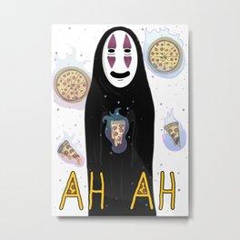 Pizzah ah Metal Print