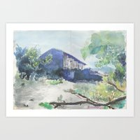 Kabylie  Art Print