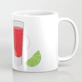 Mexico Tequila Shots Coffee Mug