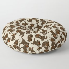 Rover's Day Off Floor Pillow