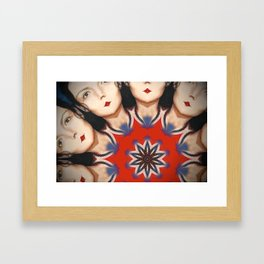 Kaleidoscope C12 Framed Art Print