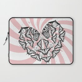 Love Conquers Hate Laptop Sleeve