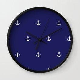 Anchor 2 Wall Clock