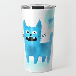 Scruffy Cat Travel Mug