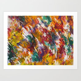 """Unity"" Abstract Acrylic by Noora Elkoussy Art Print"