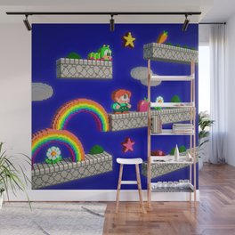 Inside Rainbow Islands Wall Mural